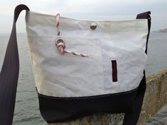 Rough Element recycled sail bag https://roughelement.dawanda.com