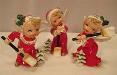 Old Fashioned Christmas, Antique Christmas, Christmas Past, Vintage Christmas Ornaments, Retro Christmas, Christmas Items, Vintage Holiday, Christmas Angels, Holiday Fun