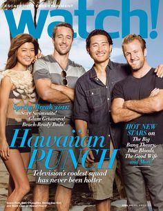 Cast of Hawaii Five-0: Alex O'Loughlin, Scott Caan, Daniel Dae Kim, Grace Park