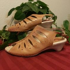 Pikolino leather sandals These feel like a soft glove on your feet. Great used condition shoe. Great quality. Pikolino Shoes Sandals