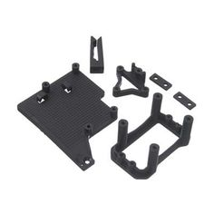 TDRTD320324 - ESC Tray/Servo Mount Set. ESC Tray/Servo Mount Set