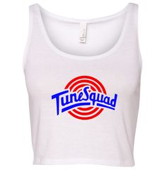 TurnTo Designs - Crop Top TUNE SQUAD Lola Vinyl XS/S with Name/Number - SWALKERDESIGNS & TurnTo Designs