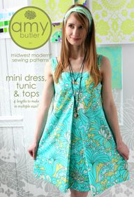 Very cute design - can't wait to get to Drawstring Fabrics and buy some beautiful fabric to make up one of these tunics!