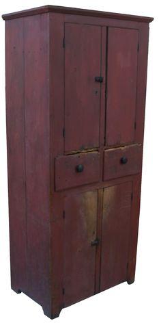 Early 19th century Pennslyvania four door Storage Cupboard, circa 1840