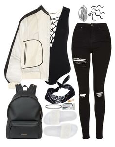 """A I N ' T N O P A R T Y L I K E A N A O M G P A R T Y"" by alicehite ❤ liked on Polyvore featuring Puma, Miss Selfridge, Topshop, Charlotte Russe, Reed Krakoff, Givenchy, ASOS, STELLA McCARTNEY, white and black"