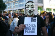 Anonymous - Global Cyber War I (Emergency) FUCK THE POLITICS - PORTUGAL