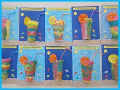 Ταξιδεύοντας στον κόσμο των νηπίων: ΚΑΛΟΚΑΙΡΙ ΜΥΡΙΣΕ......(ΚΑΛΟΚΑΙΡΙΝΕΣ ΚΑΤΑΣΚΕΥΕΣ ΚΑΙ ΓΙΟΡΤΗ ΛΗΞΗΣ) Kindergarten Crafts, Daycare Crafts, Preschool Crafts, Summer Crafts For Kids, Summer Art, Art For Kids, Rainbow Cartoon, Kids Learning Activities, Early Childhood
