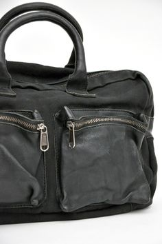 Canvas & leather bag at Alter