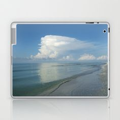 Serene Sanibel Seascape Laptop & iPad Skin by Rosie Brown - $25.00