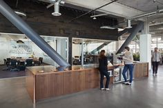 Dropbox Headquarters - Our design for this young company's new 87,000 sq. ft. China Basin headquarters provides flexibility for their fast-g...