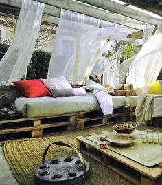 bonita terraza chill out