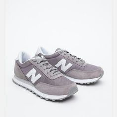 New Balance gray sneakers tennis shoes