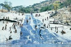 Rock slide at Mermaid's Pool 1968 Zimbabwe Mermaid Pool, Victoria Falls, Out Of Africa, All Nature, Homestead Survival, Places Of Interest, Africa Travel, Countryside, South Africa