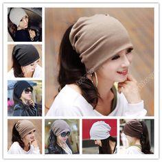 2013 women Unisex Baggy Beanie Xmas Knit Crochet Ski Hat Cap scarf hair band 43  #lightvogue #Beanie