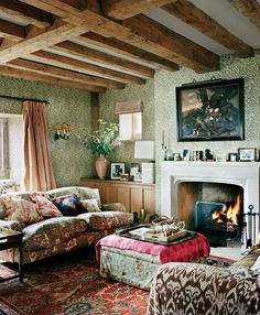 14 ways to shop the look of plum Sykes's English country home.