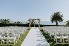 Classic Ocean-View California Ceremony Wedding Venue Inspiration, Wedding Photography Inspiration, Wedding Photography And Videography, Photography Services, Wedding Ceremony Decorations, Wedding Venues, Bel Air Bay Club, Outdoor Ceremony, White Flowers