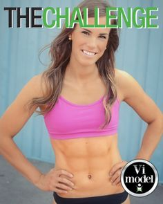 She is my ViSalus inspiration! 5 star ambassador and the 2012/13 vi model! Living example of health, nutrition and fitness, Mia St-Aubin.