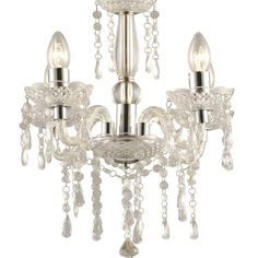 Kronleuchter Camille 4L Klassisch Kristall #kronleuchter #kristall #licht https://www.kronleuchterhaus.de/collections/schlafzimmer-kronleuchter/products/kronleuchter-camille-weiss-klassisch-kristall
