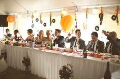 A Real Hi-Fi Wedding: Jen & Joey's Vintage Vibe