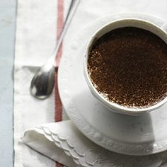 Make your own Peppermint Mocha at home using Almond Milk. You will be addicted as I am, putting Starbucks to shame ;)