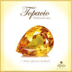 Topacio es la piedra del mes de noviembre, conoce lo fascinante de esta piedra preciosa en el siguiente link: http://www.effigia.com.ec/topacio-piedra-de-noviembre/