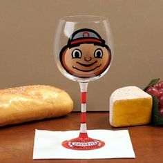 Ohio State Buckeyes Hand-Painted 16oz. Wine Glass by Wine Things. $22.25. Ohio State Buckeyes Hand-Painted 16oz. Wine Glass-Holds approximately 16 ouncesTeam logo and colorsHand paintedPre-packaged caseReady to wrapOfficially licensed collegiate productHand paintedTeam logo and colorsPre-packaged caseReady to wrapHolds approximately 16 ouncesOfficially licensed collegiate product