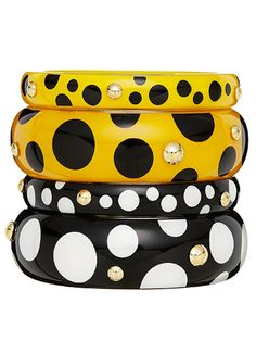 Dot, Dot, Dot... thin bangles louis vuitton from $360 to $445 each