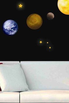 Planets Removable Wall Decal Set