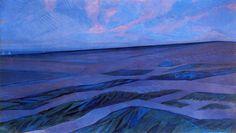 Piet Mondrian, Paysages de dunes, 1911