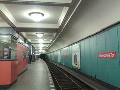 Hallesches Tor U-Bahn Station, Berlin, Germany U Bahn Station, Dream City, Berlin Germany, Life Photo, Scenery, Train, Places, Landscape, Paisajes