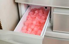 自動製氷機を簡単に洗浄!安全に除菌できるというピンクの氷の正体は