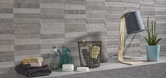 """Concept Share Grey 12""""x24"""" wall tile Bathtub Surround, Wall Tiles, Concept, Grey, Products, Cement, Room Tiles, Gray, Gadget"""