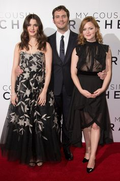 Rachel Weisz, Sam Claflin, Holiday Grainger at My Cousin Rachel UK premiere