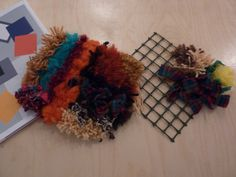 Rug tufting workshop in response to Mary Webb exhibition at the Sainsbury Centre, led by June Croll.
