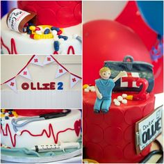 Doctor Party Theme Birthday • Medical Party