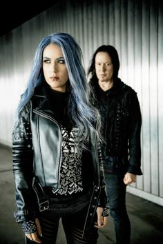 Alissa White-Gluz and Michael Amott - Arch Enemy
