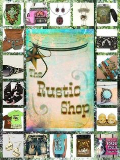 Check out my stuff  http://www.therusticshop.com/?store=rusticjo
