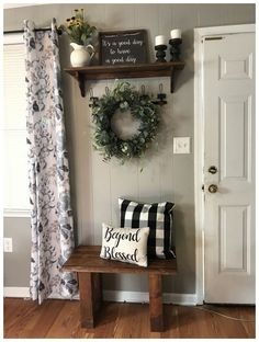 26 Awesome Rustic Apartment Living Room Decor Ideas And Makeover. If you are looking for Rustic Apartment Living Room Decor Ideas And Makeover, You come to the right place. Here are the Rustic Apartm. Rustic Apartment, Apartment Living, Apartment Walls, Cozy Apartment, Farmhouse Wall Decor, Country Decor, Farmhouse Ideas, Modern Farmhouse, Farmhouse Design