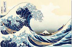 36 Views of Mt. Fuji -The Great Wave off Kanagawa by Hokusai