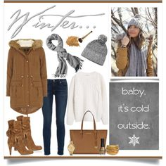 Baby it's cold outside... by djwords on Polyvore featuring MANGO, Dorothy…
