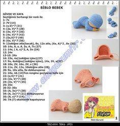 begoşun hobi sepetig: Biblo bebek örmek isteyenler..forum.amigurumitr.com adresine ait bir paylaşımdır..