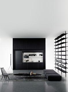 Salinas by Boffi | #design Patricia Urquiola #kitchen #minimal