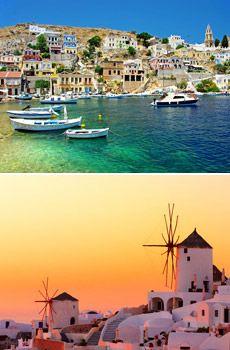 $1499 -- Greek Islands: Santorini & Mykonos 8-Night Vacation