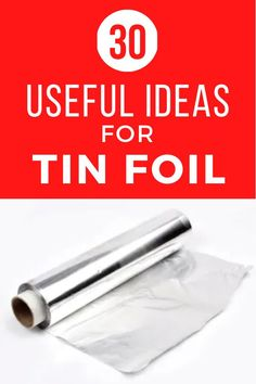 Check out these simple life hack ideas that every girl should know using tin foil. These useful hacks using an every day item make organization and cleaning easy and simple. #diy #lifehacks #tinfoil Bathroom Cleaning Hacks, Cleaning Tips, Cleaning Products, Copper Spray Paint, Mason Jar Lighting, Jar Lights, Simple Life Hacks, Hacks Diy, Simple Diy