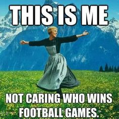 Image result for funny i hate football memes