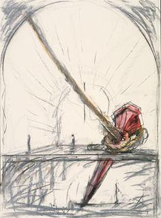 Claes Oldenburg and Coosje van Bruggen, Stake Hitch, 1984, Dallas Museum of Art. I miss it! :(