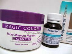 Hidratação matizadora para cabelos loiros ou coloridos - Cuidados e Vaidades http://www.cuidadosevaidades.com.br/2014/06/hidratacao-matizadora-para-cabelos.html