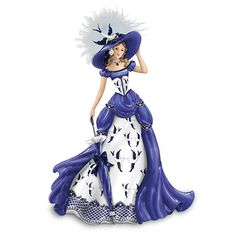 Blue Willow China Pattern-Inspired Lady Figurine: Rowena by The Hamilton Collection Hamilton http://www.amazon.com/dp/B003JD18AQ/ref=cm_sw_r_pi_dp_r2M9tb1N4XV2G
