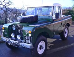 //Land Rover Series 2 1958