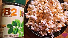 PB2 Popcorn! Perfect for Peanut Butter Addicts!